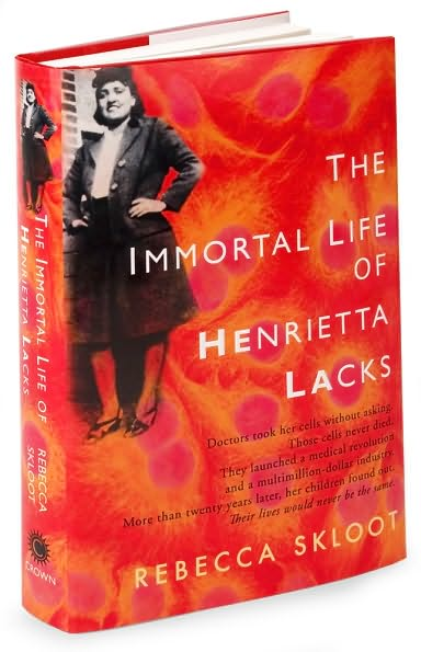 """the life and cells of lacks in the immortal life of henrietta lacks a book by rebecca skloot Buy the paperback book the immortal life of henrietta lacks by rebecca skloot   —the economist """"journalist rebecca skloot's history of the miraculous cells."""