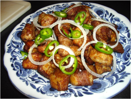 the abundance of plantains at two Tostones are from basically anywhere in the caribbean because of the abundance of plantains and bananas what are tostones tostones are fried plantain chips, the ingredients used to make them are plantains and oil.