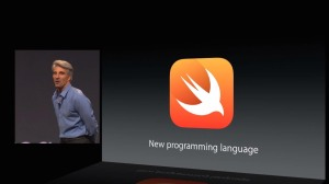Apple announcing Swift