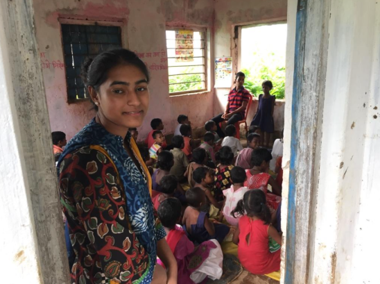 Visiting a one-teacher Ekal School